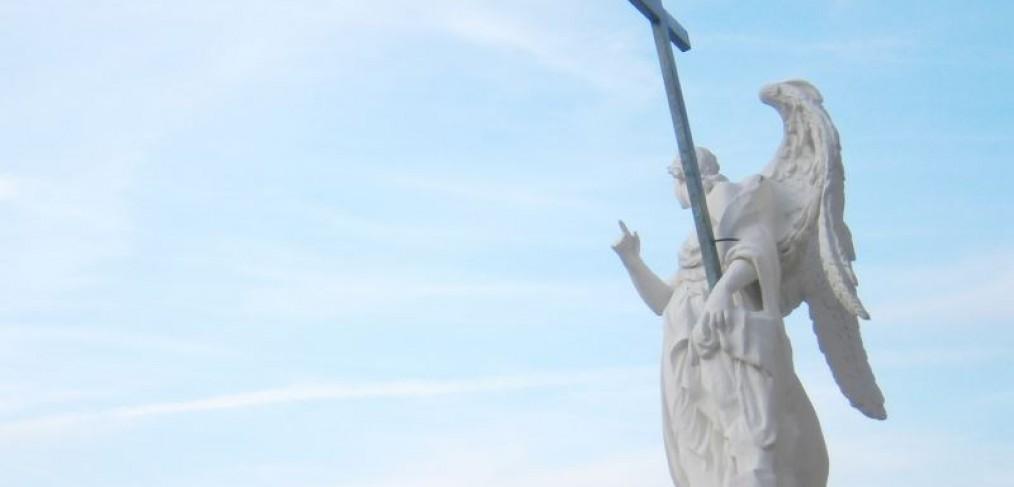 Statue vor der Karlskirche, Wien