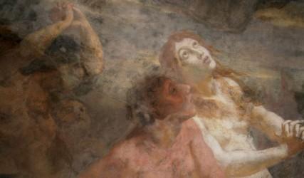 Wandmalerei, Stephansdom, Wien