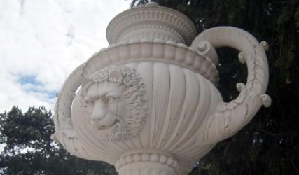 Skulptur im Park von Schloss Schönbrunn, Wien