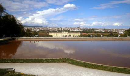 Blick auf Schönbrunn, Wien