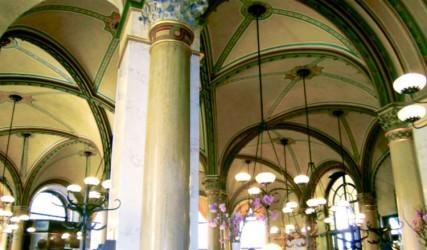 Gewölbe, Cafe Central, Wien