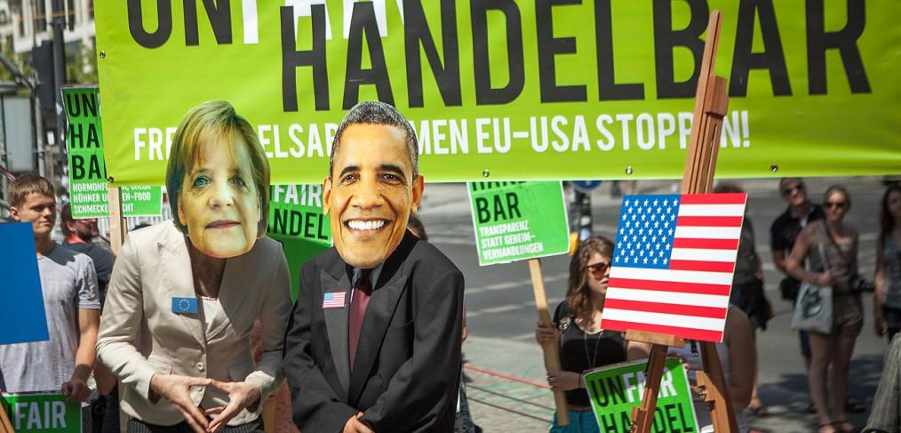 TTIP-Proteste am 18. Juni 2013 in Berlin