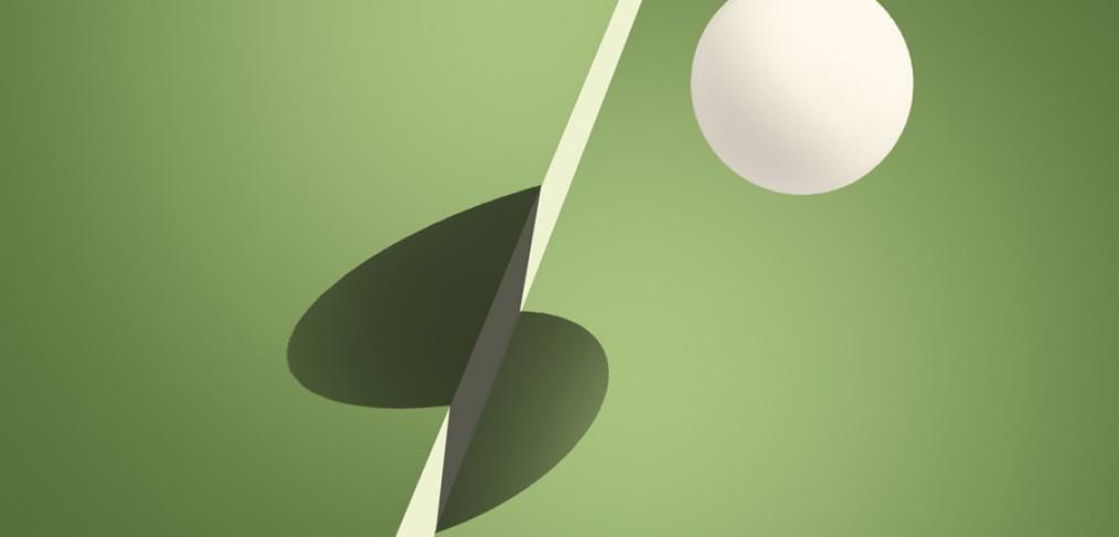 ping-pong bal