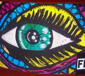Mandala Eye (Plakat)