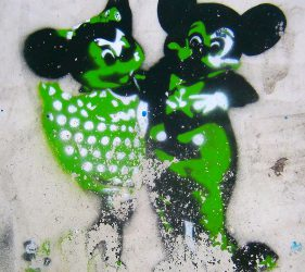 Mickey & Minnie (Stencil)
