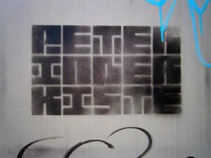 Peter in der Kiste (Stencil)