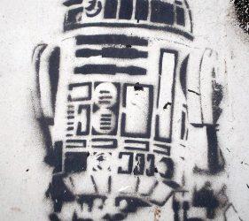 R2D2 (Stencil)