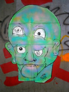 Strangehead (Plakatiert)