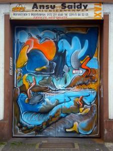 Tor am Fürstenplatz (Grafitto)