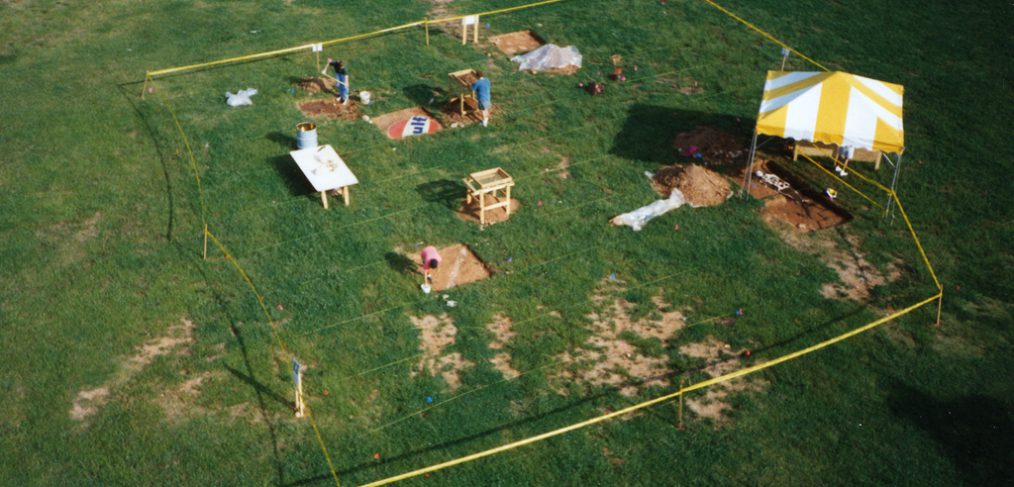 Piedmont Park Art Installation - Archeology