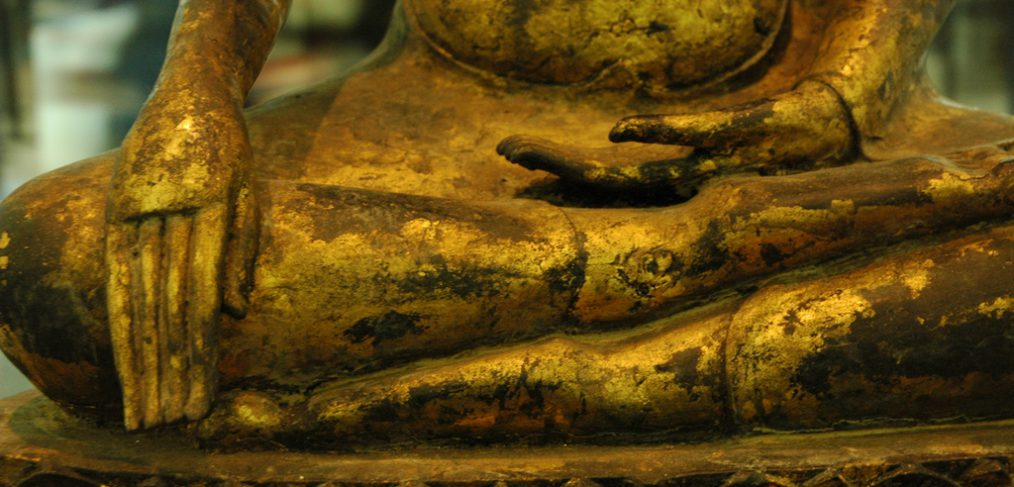 Buddha Earth Witness Mudra
