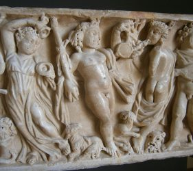 Antike Orgie
