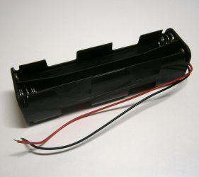 Batteriehalterung für 8 Mignon-Batterien