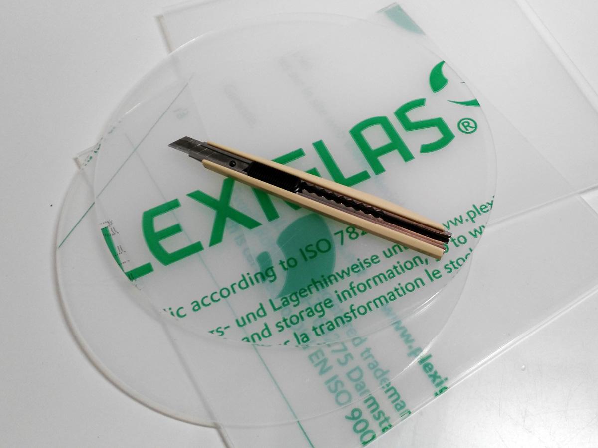 Plexiglas schneiden