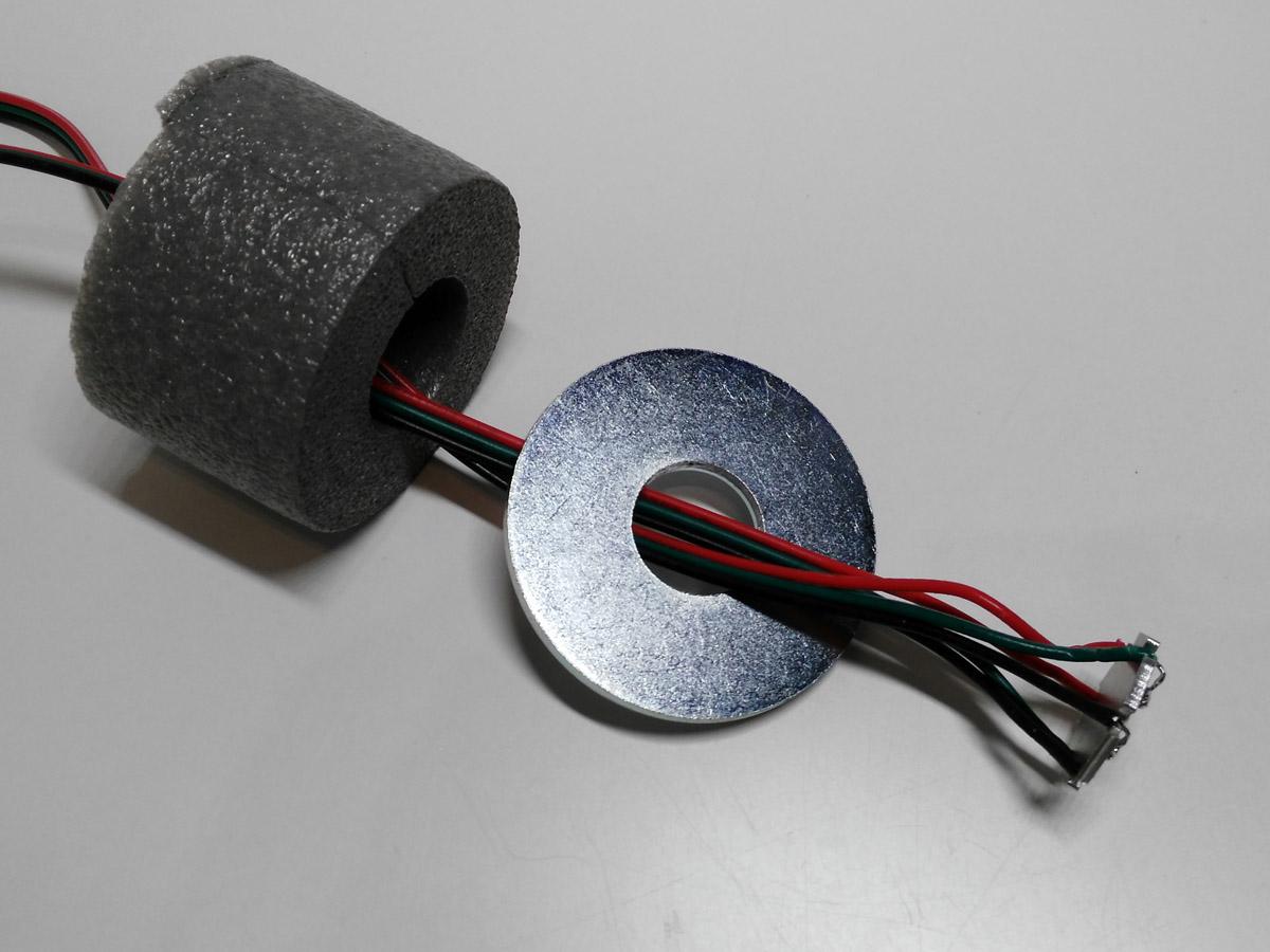 Hochleistungs-LED, Unterlegscheibe und Schaumstoff