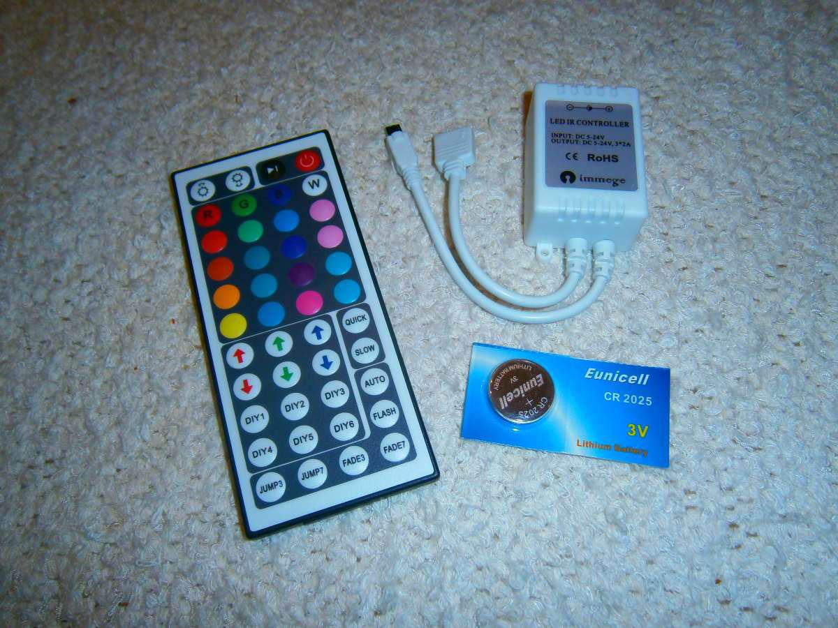 LED-Controller mit Fernbedienung