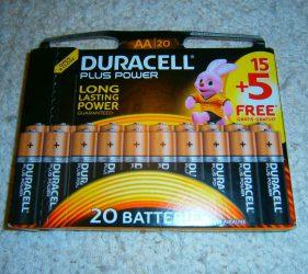Mignon-Batterien AA
