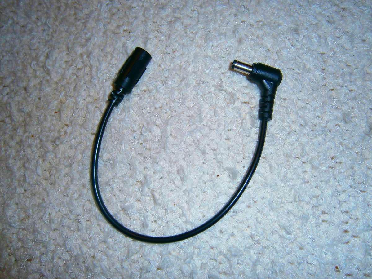 Niedervolt-Anschlusskabel (DC-Kabel)