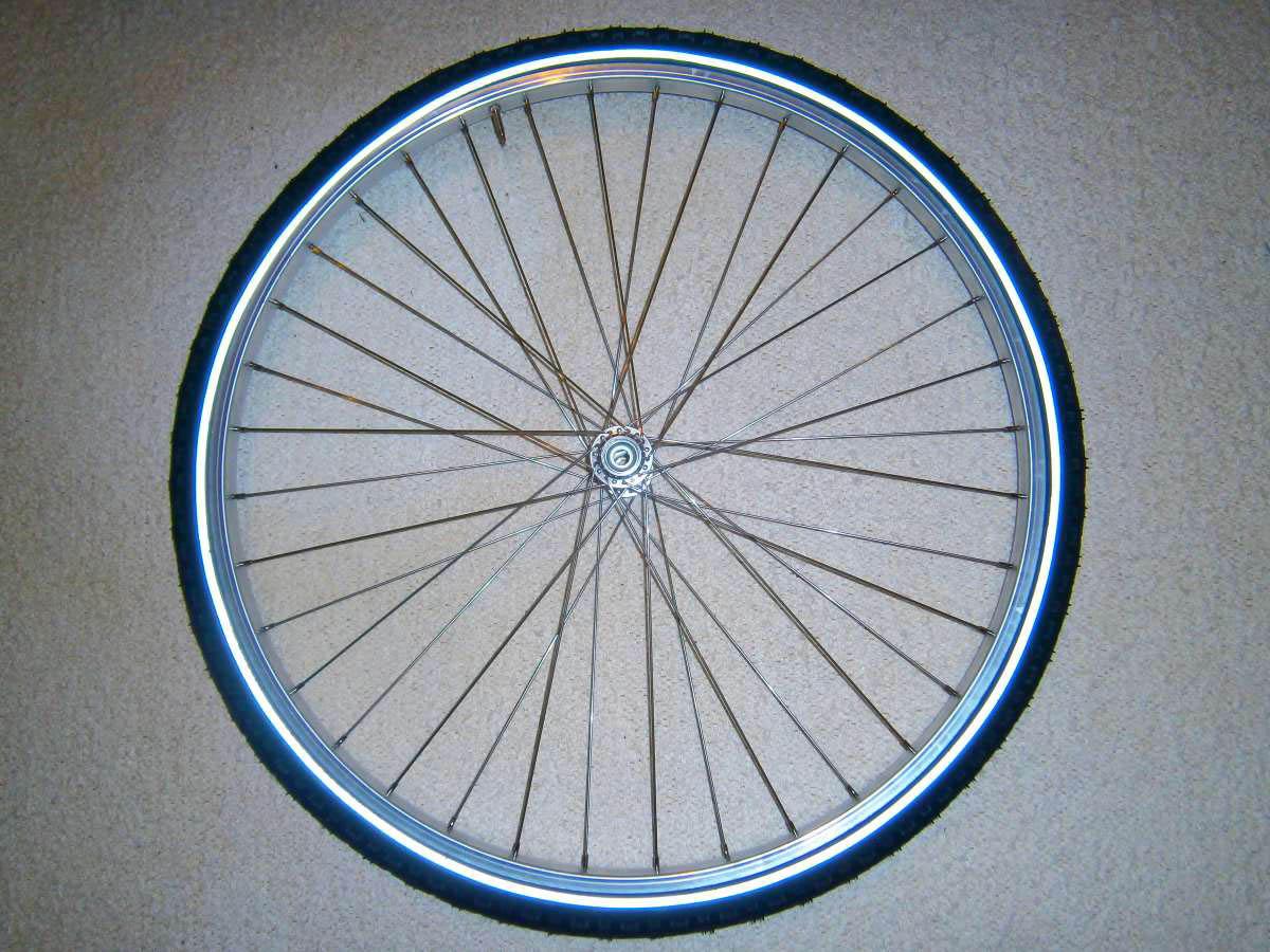 Fahrradreifen aufziehen
