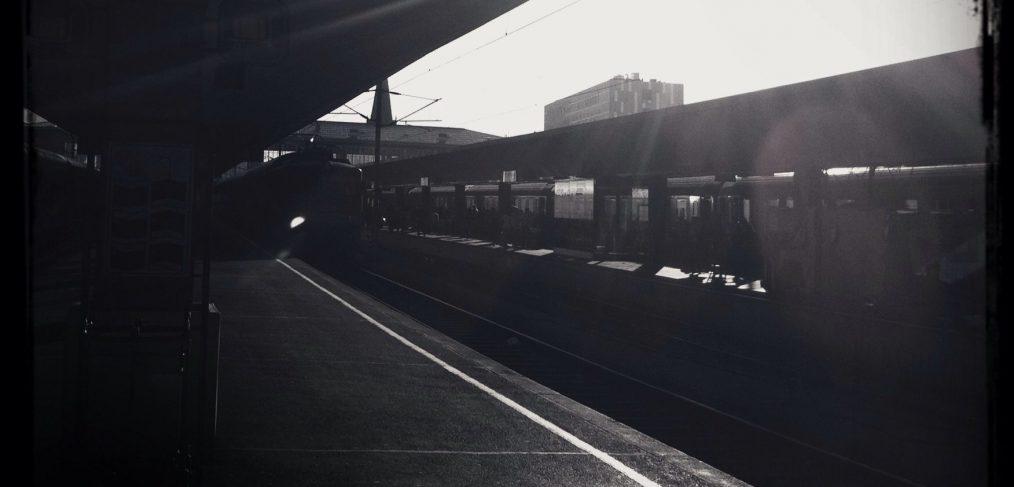Sonnen-Bahnsteig