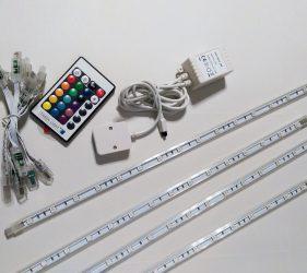 LED-Leisten, Steckverbindungen, LED-Controller und Fernbedienung von Tween Light