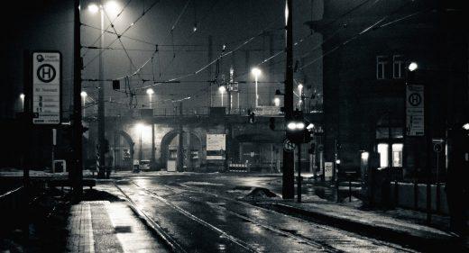 Bahnhof Neustadt Nachts